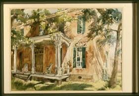 civil war watercolor Gwendolyn Evans
